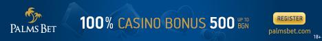 Palmsbet Sports Betting Bulgaria